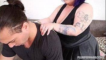MILF BBW Billie Austin teaches Stud about Sex