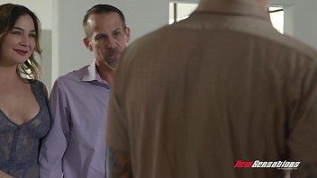 Cheating Wife Blair Williams Sucking Multiple Cocks