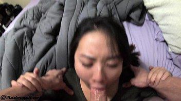 DEEPTHROAT and amateur assfucking asian girl Thumbnail
