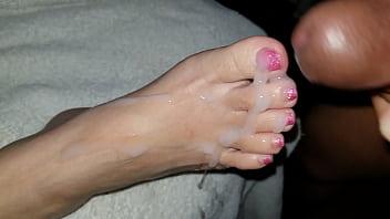 Sexy fetichisme des pieds