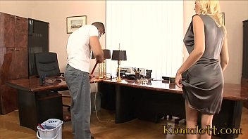 Kumalott - Cock Hungry Cougar Fucked by Janitor at the Office