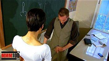 Jasmine Arabia perfect young arab slut fucked in the classroom