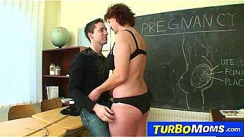 Hot czech cougar Helena student teacher harassment in school
