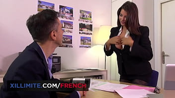 Anal Sex at the office with Anna Polina in lingerie