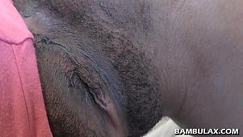 African whore fucked by BWC and nut filled pussy