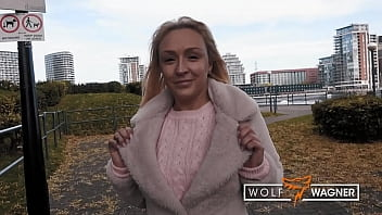 HARDCORE Fuck On VACATION SEX With Dumb Blonde British AMBER (FULL SCENE)! WolfWagner.com