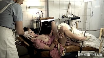 The b. nurse helps the dentist to destroy the tight anal of their patient