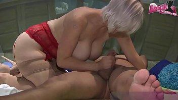 Deutsche schlampe Jamie Jadon wird bei einer Sexparty ohne gummi 20x besamt