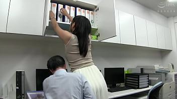 Asian Jap office young lady pantyhose