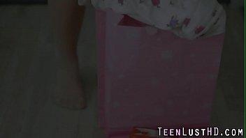 Teen beauty in stockings