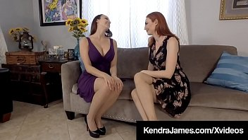 Pantyhose Pussy Lovers Lexi Luna & Kendra James suck on their hosed legs & feet & finger each other's wet juicy snatches until they both cream their cunts! Full Video & Kendra Live @ KendraJames.com!