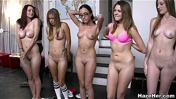 Group naked women The Ladybirds: