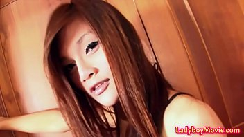 Tease from ladyboy tan young strip suggest you