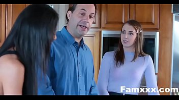 Hot Teen Blackmails & Fucks Panty sniffing step dad| Famxxx.com