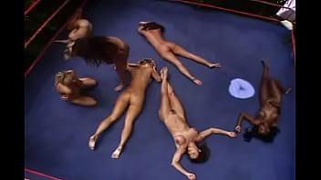 Teen Mädchen Wrestling Nackt
