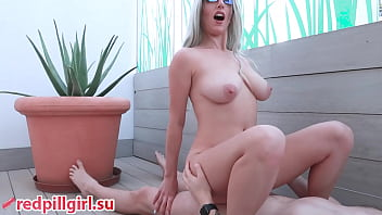 huge natural tits milf cowgirl redpillgirl