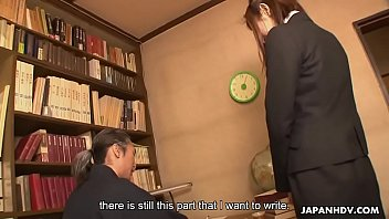 Watch Cock craving Japanese office_babe seduces an older dude preview