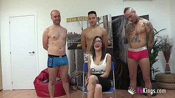 Gangbang without rubber. Divorced, scorned and lusting for cock. Noa wants it all