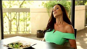 Kendra lust breakfast table lesbian sex