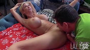 Alexis Fawx has screaming orgasms on Laz Fyre's Cock *FULL SCENE & BTS*