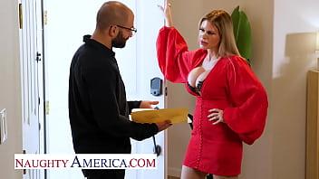 Naughty America - Casca Akashova is the perfect MILF sex doll