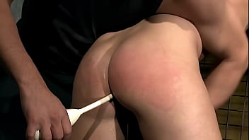 Barbie Pink gets hard BDSM treatment, and she learned to obediently give her ass hole to her Master.