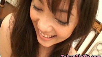 An Takahashi Lovely Asian Teen Shows Her