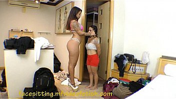 Face Sitting Very Small Girl Short Girl Humiliation Between Ass