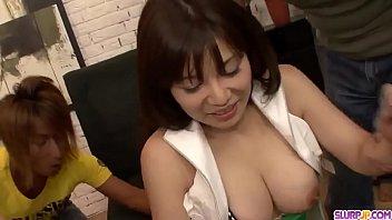 Hot japanese girl Karen Natsuhara loves a big dick muffle her