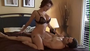 Tattooed redhead Joslyn James softcore sex