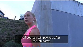 PublicAgent Russischen Blondine wird gefickt...