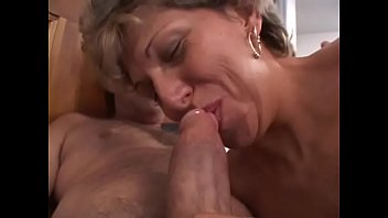 Nasty mature blonde loves to get driven at chocolate highway