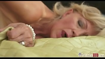 Young Stud Gently Satisfies Lustful Granny Blonde