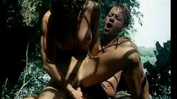 Tarzan and Jane Playing with Each Other