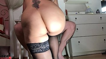 Babe Deepthroat Cock and Ride On Top - Homemade