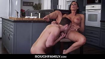 Lonely and Horny Mom Receives her Son's Dick