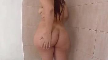 Gran culo de hermosa madura, COGIENDO CON DESCONOCIDO después de la ducha