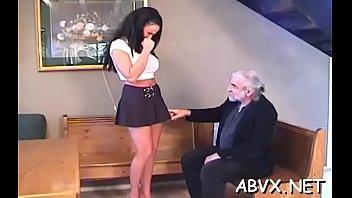 Lustful woman bizarre bondage
