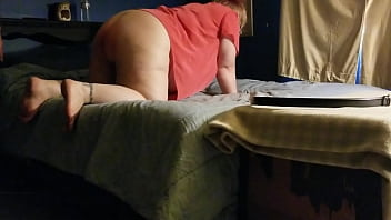Daddy Gives Plus Size Girl a Spanking