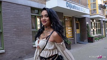 GERMAN SCOUT - LATIN TATTOO CELEB SEDUCE TO BAREBACK FUCK FOR MONEY IN AMSTERDAM
