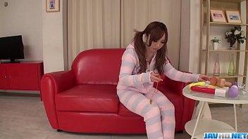 Hot japan women Rino Sakuragi Steamy play with toy
