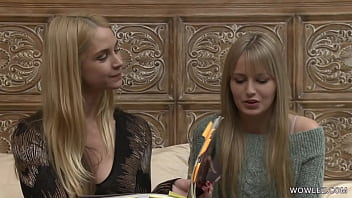 Hot MILF And Young First Timer Have Girl-Girl Sex