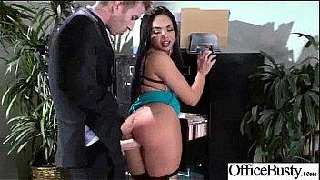 Hardcore Bang With Busty Naughty Cute Office Girl (selena santana) video-28