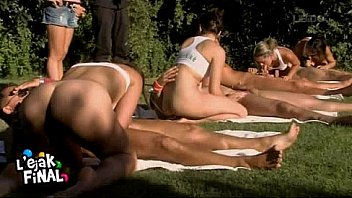 4 couples in a swinger competition