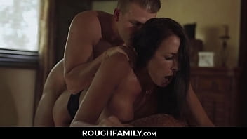Seduced Mom Banged by her Old Stepson - RoughFamily.com