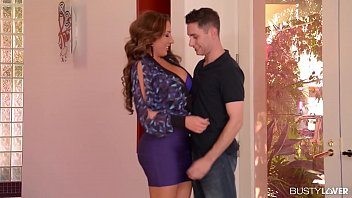 Milf Seduces Young Stud For Titty Fucking Pleasures