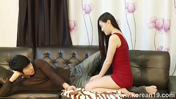 Korea girl massage for Boss(little Sex) and So good