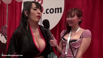 Hitomi Tanaka & Harriet Sugarcookie @ AE Expo