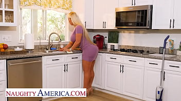 Naughty America - Alura Jenson takes her anger out on some prankster