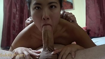 Upside down blowjob and assfucking this sexy asian @andregotbars